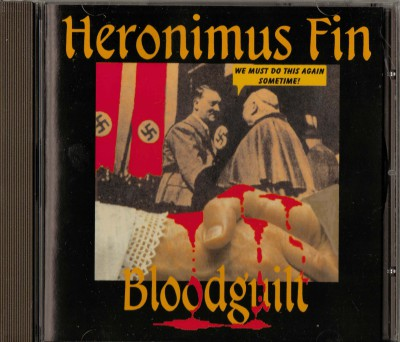 Withdrawn sleeve very rare copy of Heronimus Fin Bloodguilt