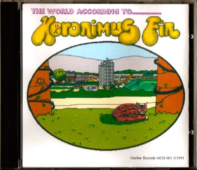 Heronimus Fin The World According To.. Mega Rare CD Prog Psych UK