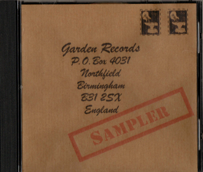 Garden Records Sampler Mega Rare 50 only